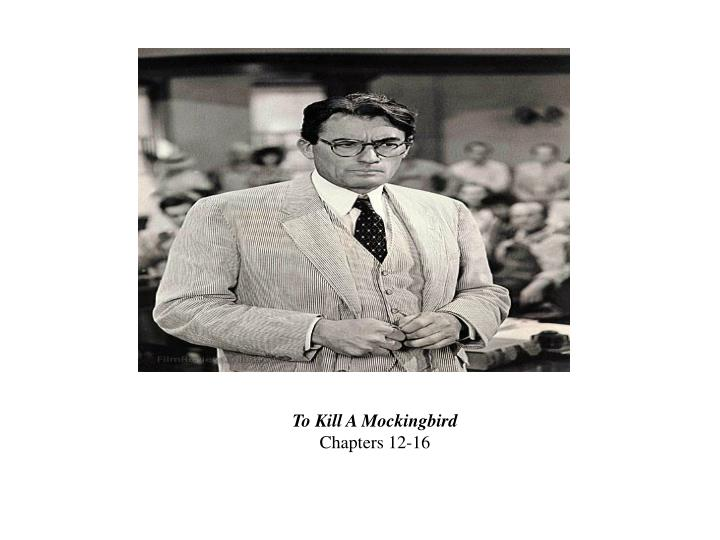 annotations to kill a mockingbird chapter by chapter