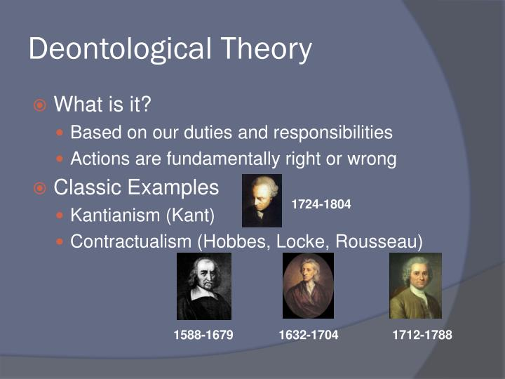 Deontological Theory