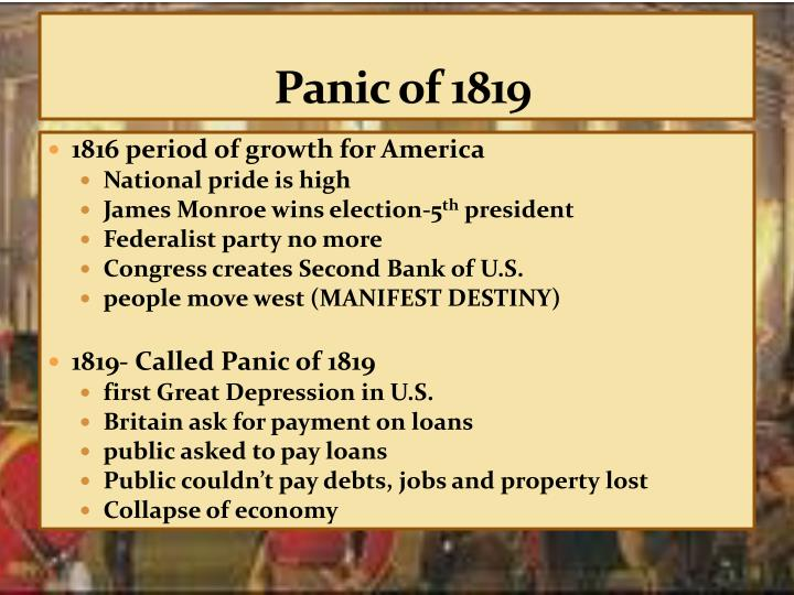 depression of 1819