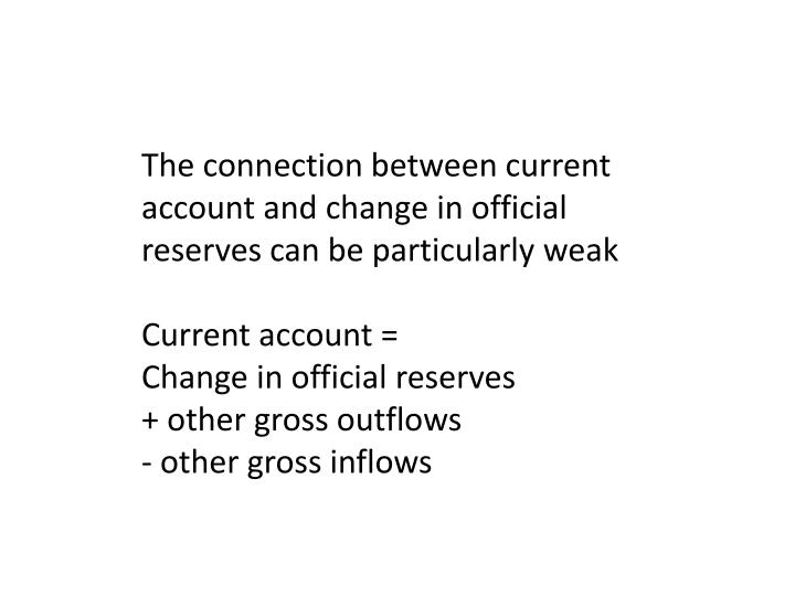 The connection between current