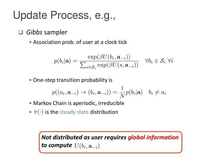 Update Process, e.g.,