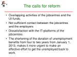 the calls for reform2