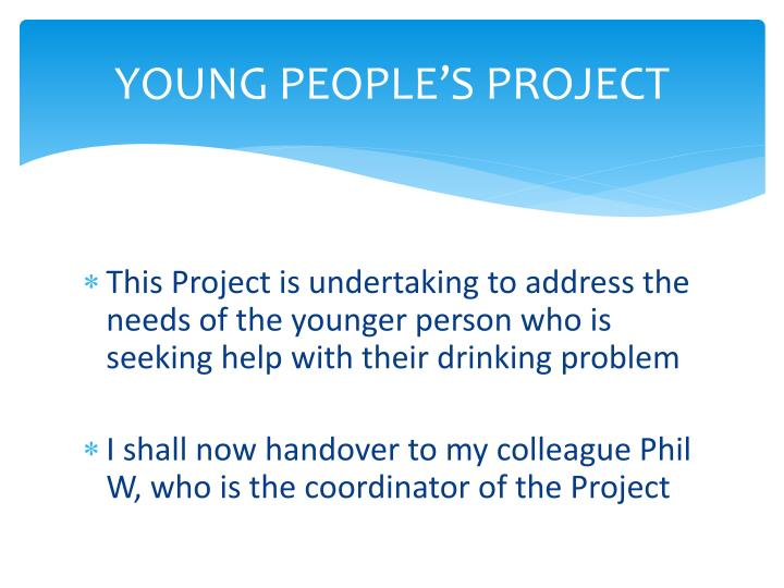 YOUNG PEOPLE'S PROJECT
