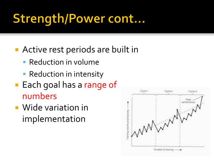 Strength/Power