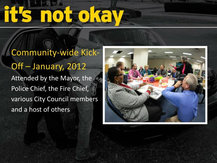 Community-wide Kick-