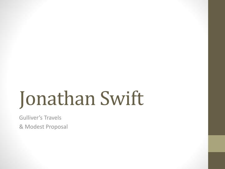 jonathan swift n.