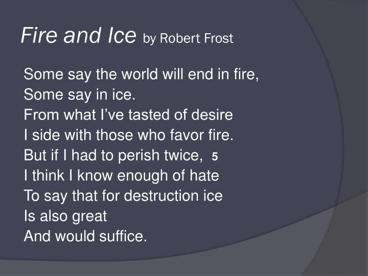 robert frost figurative language