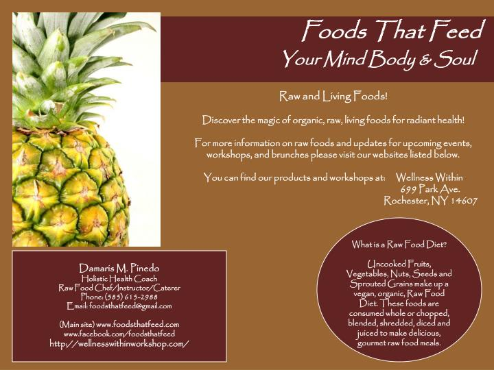 Foods that feed your mind body soul