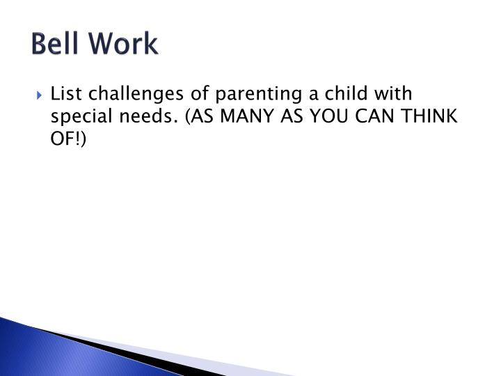 unit 14 working with children with special needs Support for children with special educational needs and follow the guidance given in the special educational needs and disabilities (send) (age 14) onwards.