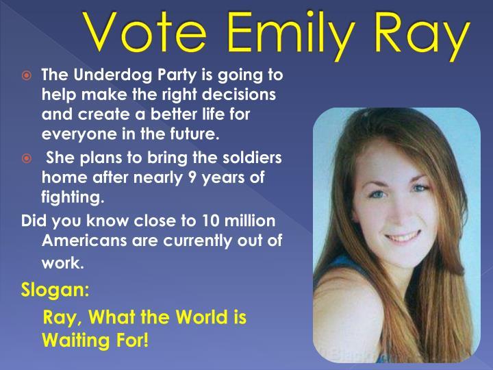 Vote emily ray
