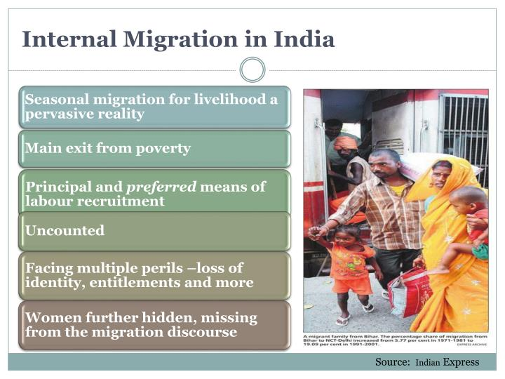 Internal migration in india