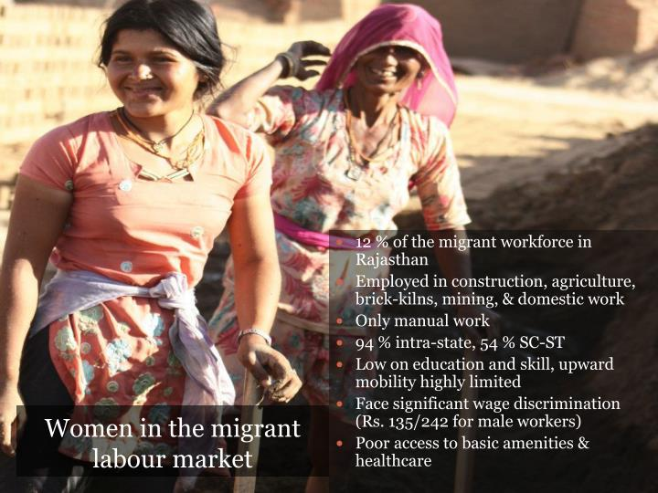 Women in the migrant labour market