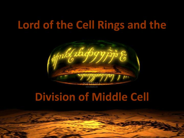 lord of the cell rings and the n.