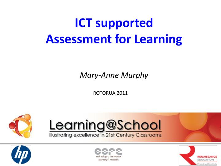 ICT supported