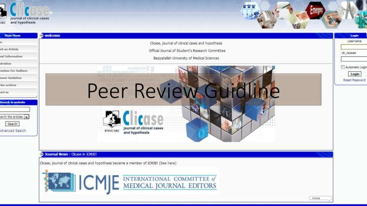 peer review g uidline n.