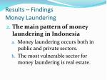 results findings money laundering1