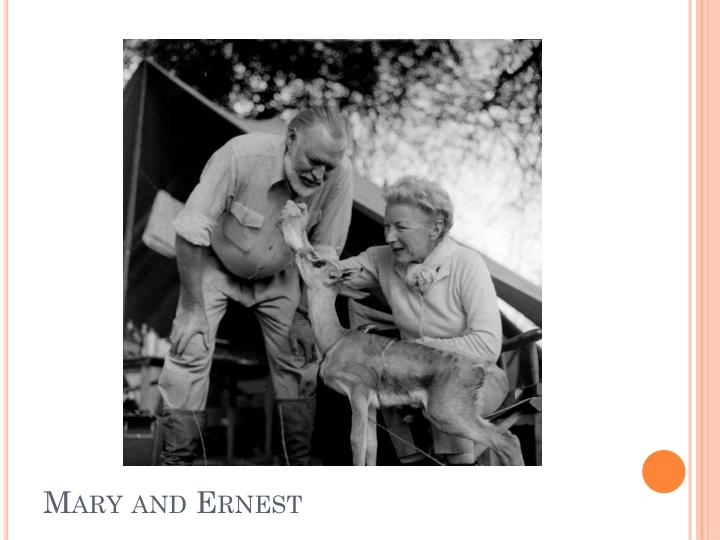 Mary and Ernest