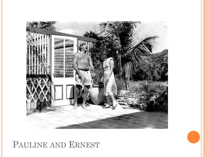 Pauline and Ernest