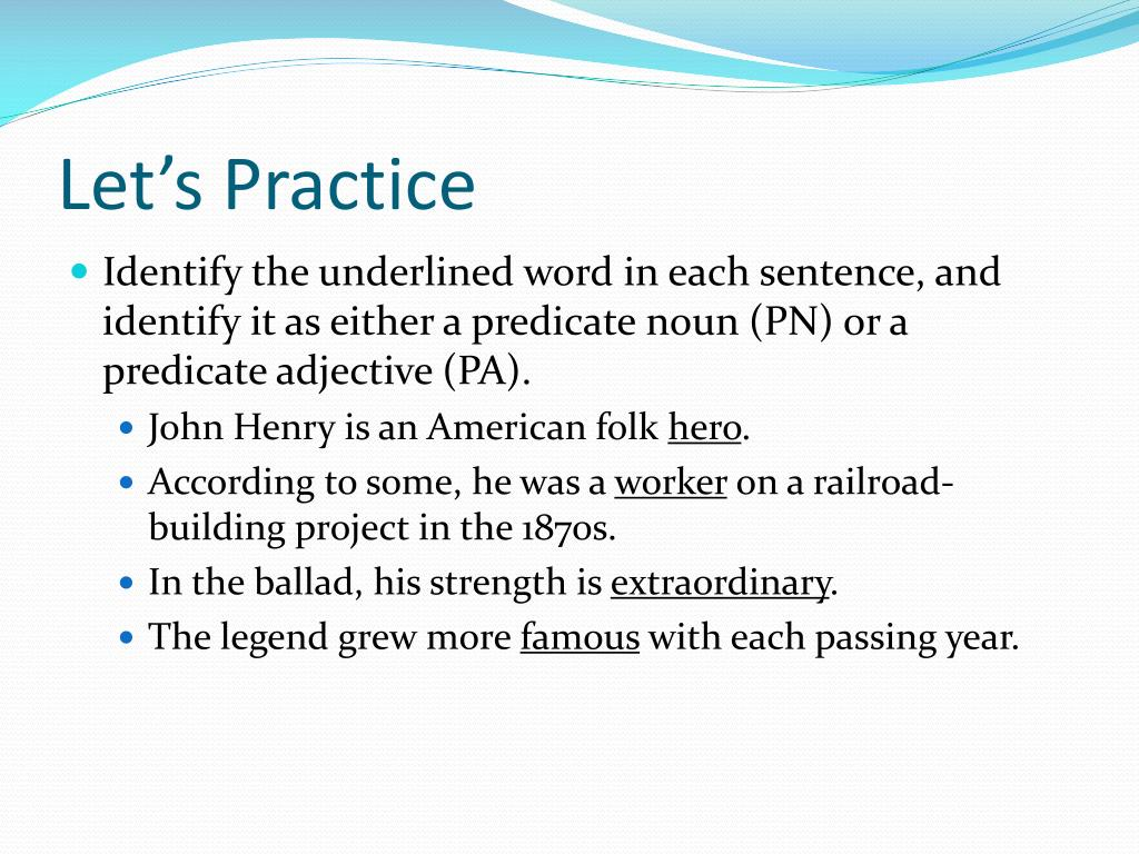 PPT - The Sentence and Its Parts PowerPoint Presentation
