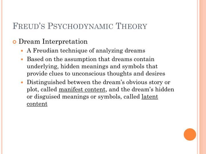 freud dream symbols