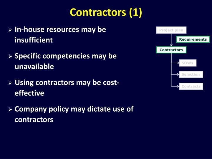 Contractors (1)