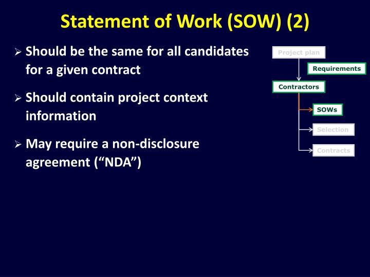 Statement of Work (SOW) (2)