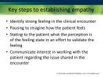 key steps to establishing empathy