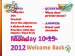 monday 10 15 2012
