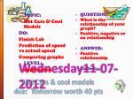 wednesday11 07 2012