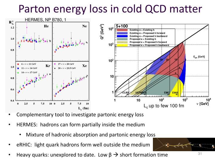 Parton energy loss in cold QCD matter