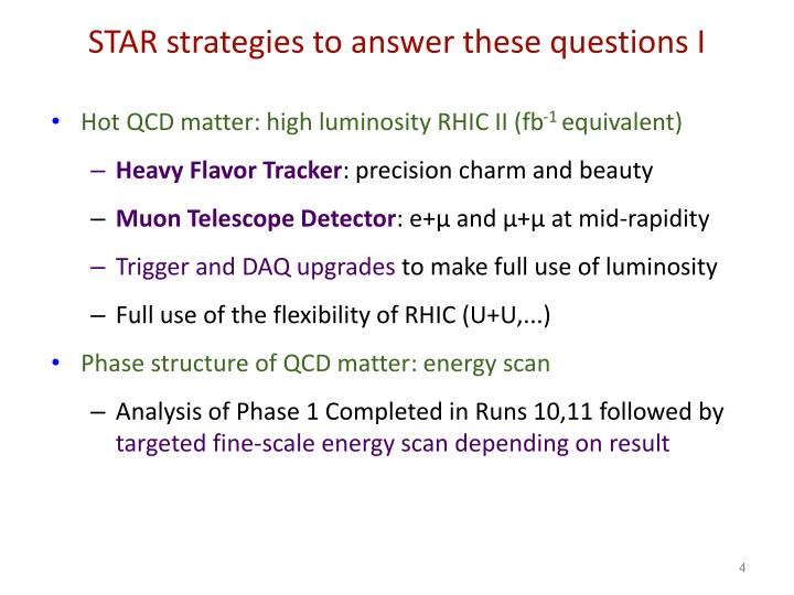 STAR strategies to answer these questions I