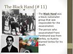 the black hand 11