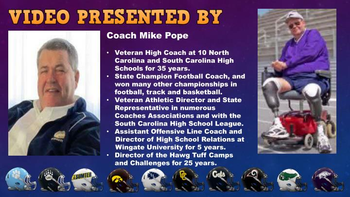 Coach Mike Pope