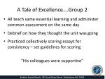 a tale of excellence group 21