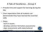 a tale of excellence group 41