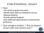 a tale of excellence group 42