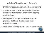 a tale of excellence group 51
