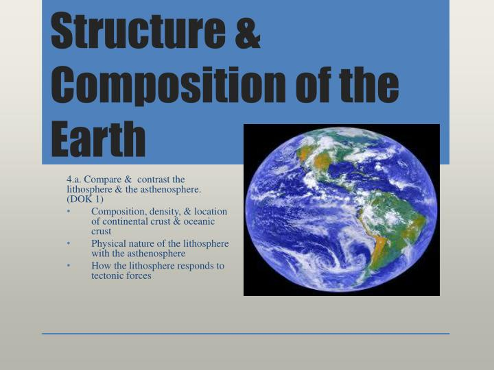 PPT Structure amp Composition of the Earth PowerPoint