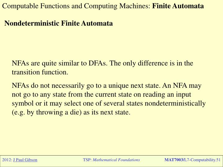 Computable Functions and Computing Machines: