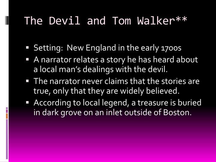the devil and tom walker story