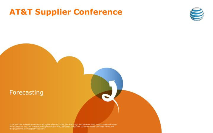 At t supplier conference