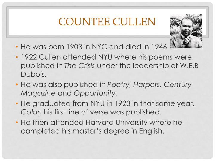 Countee cullen1