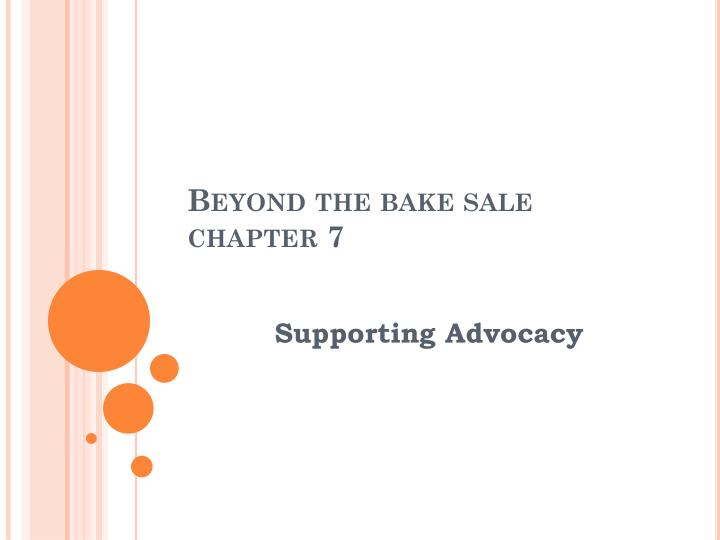 beyond the bake sale chapter 7 n.