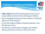 children s health and welfare