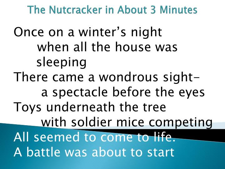 the nutcracker in about 3 minutes n.