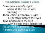 the nutcracker in about 3 minutes