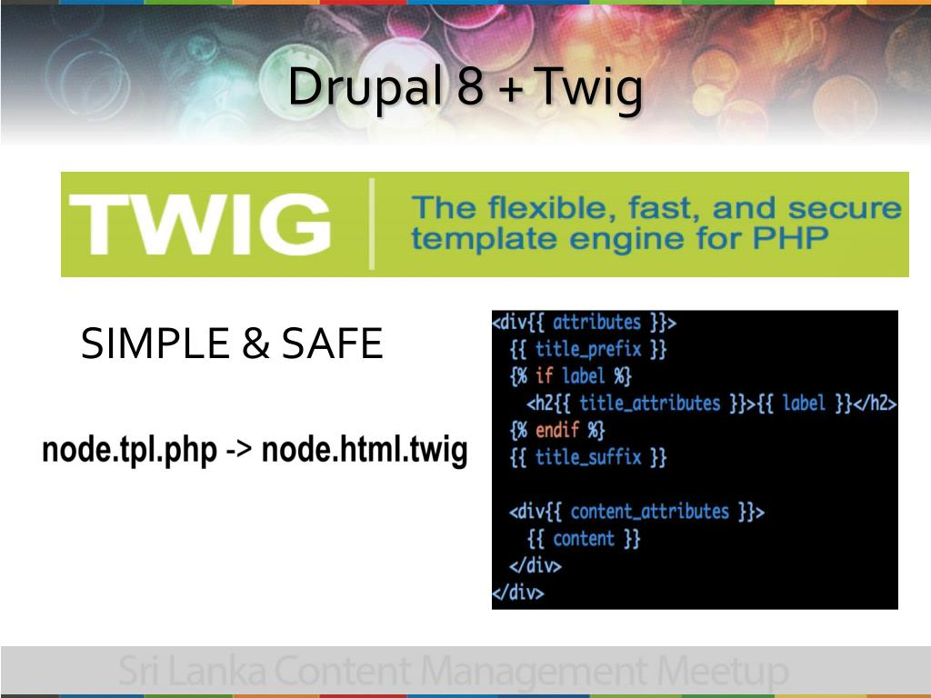 PPT - What's coming up with Drupal 8 PowerPoint Presentation