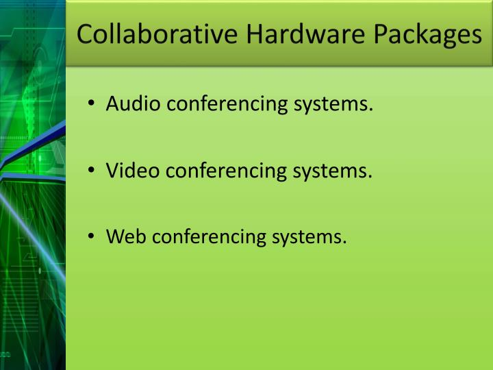 Collaborative Hardware Packages