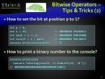 bitwise operators tips tricks 2