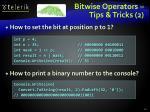bitwise operators tips tricks 2